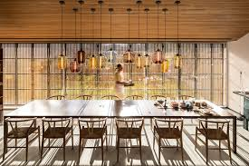modern dining room lighting multiple