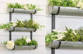 wall mounted trough planters uk