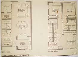 townhouse floor plans. Floor Plans/Townhouse Townhouse Plans N