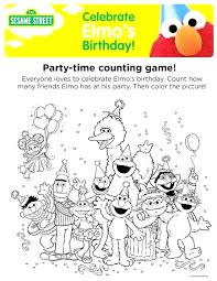 Coloring Pages Thanksgiving Coloring Pages Elmo And Cookie Monster