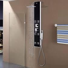 Vidaxl Duschpaneel Regendusche Duscharmatur Dusche Glas 18