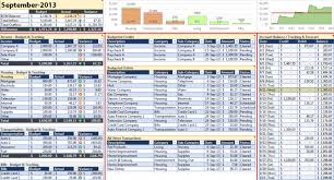 Budget Sheet In Excel Budget Spreadsheet Excel Template Personal Monthly And Yearly