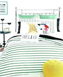 spade duvet cover bedroom set new harbour stripe picnic green comforter and sets bedding kate bed spade comforter set new