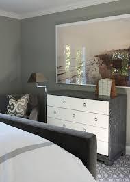 White And Gray Dresser