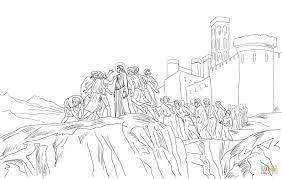 Jezus Afgewezen In Nazareth Kleurplaat Gratis Kleurplaten Printen