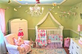 Birds Hanging On Ceiling Adorable Disney Baby Nursery Room Decoration Green  Wall Full Wooden Furniture