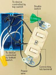 how to wire tm8111 switch how to wire cooper 277 pilot light Dual Pole Light Switch Wiring combination switches double switch double switch wiring diagram leviton double switch wiring diagram 3 way switch double pole light switch wiring