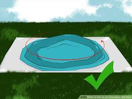 how to set up an intex easy set pool 15 steps pictures image titled set up an intex easy set pool step 6