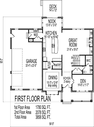elegant two story home plans with open floor plan new