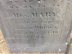 """Mary """"Polly"""" Welch Whitney (1772-1840) - Find A Grave Memorial"""
