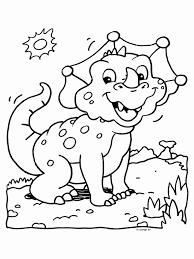 Kleurplaat Dino