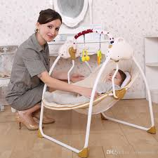 2016 baby electric rocking chair bouncer intelligent baby swing chair baby chaise lounge bassinets cradles rocking chairs rocking chairs free