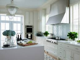 Image Grey Quartz Cream Kitchen Cabinets With Blue Tile Backsplash Decorpad Cream Kitchen Cabinets With Blue Tile Backsplash Cottage Kitchen