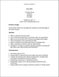 Resume Examples Qualities Therpgmovie
