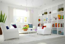 colorful living rooms with white walls. Colorful Living Room With White Background Rooms Walls O