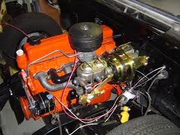 tricked out chevy six cylinder engines the 1947 present here s mine while i was putting it back in 235 in my 62