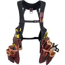 occidental leather suspendavest beltless leather tool belt 2550
