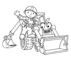 Bob De Bouwer Kleurplaat Animaatjesnl