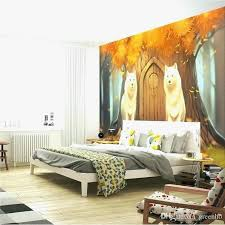 Amazing Wolf Bedroom Decor Awesome Forest Themed Bedroom Wolf Bedroom Decor Cartoon  Wall Mural