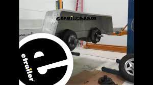dexter 12 inch electric trailer brake installation etrailer com dexter 12 inch electric trailer brake installation etrailer com