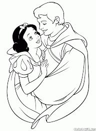 Disegni Da Colorare Il Principe E La Biancaneve