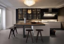 kitchen island integrated handles arthena varenna: appliances as art and other kitchen trends from eurocucina  other art and kitchen trends