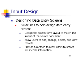 Guidelines For Data Entry Screen Design Ppt Chapter 7 Powerpoint Presentation Free Download Id