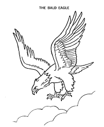 Free Bald Eagle Coloring Page Find This Coloring Page Along With