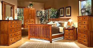 mission oak furniture. Red Oak Bedroom Furniture Intended For Mission Set Creek Waterbed Plan 18 U