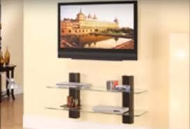 flat screen television wall mounted flat screen tv shelf design ideas