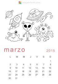 Calendarios Para Imprimir 2015 Calendario De 2015 Para Imprimir Y Colorear Etapa Infantil