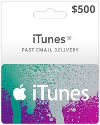 itunes gift card email delivery