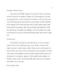 essay sample on management of information systems 7