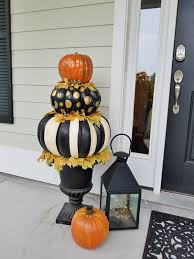 pumpkin topiary diy