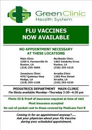 Learn about common flu myths. Latest News Green Clinic