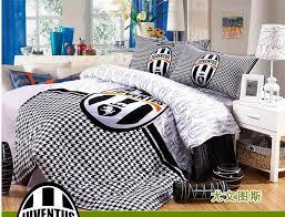 100 cotton kids boys juventus football bedding sets bed covers duvet cover sets bed set