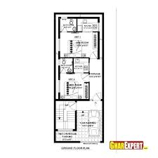house plan in 20 60 plot cool house plan for feet by feet plot plot size house plan in 20 60