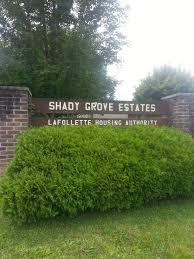 community garden shady grove estates