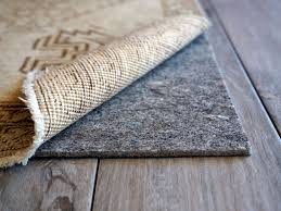 attractive area rug pads for wood floors in hardwood diy