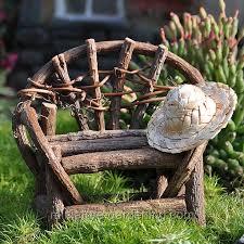 vine twig bench