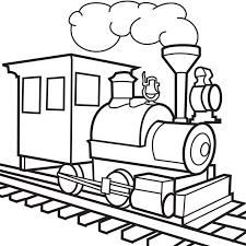 These train coloring pages feature bullet trains, steam engines, freight trains, and more. Train Tracks Colouring Pages Coloring Home