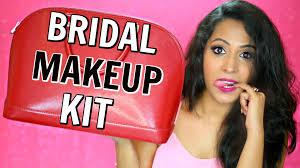 bridal makeup kit makeup essentials indian makeup shrutiarjunanand shruti s