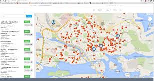 javascript  google maps setcenter focus on new location  stack
