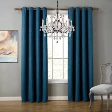 Sheer Bedroom Curtains Aliexpresscom Buy Blue Modern Style Bedroom Curtains Solid