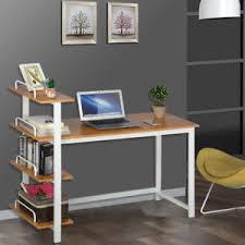 home office bookshelf. Perfect Bookshelf Image Is Loading 4ShelvesComputerDeskHomeOfficePCLaptop To Home Office Bookshelf