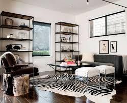 zebra area rug. Excellent Brilliant Rug Living Room Using Zebra Print Area Rugs Under Metal For Modern