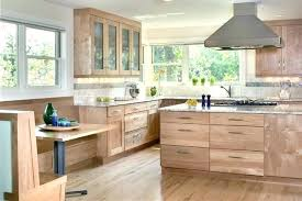 Kitchen Colors With Light Wood Cabinets New Decorating