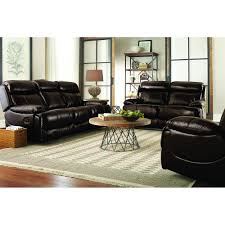 Braxton Leather Living Room Reclining Sofa  Loveseat UXW - Leather livingroom