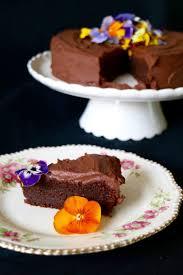 diy vegan chocolate olive oil cake via gggiraffe blo ru