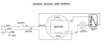 run capacitor wiring wiring diagram hub Small AC Motors at Single Phase Motor Capacitor Start Capacitor Run Wiring Diagram